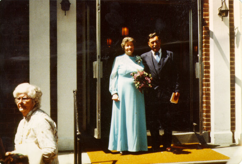 The 50th Wedding Anniversary of Robert Erskine Rudolph and Evelyn Louise Baumgartner