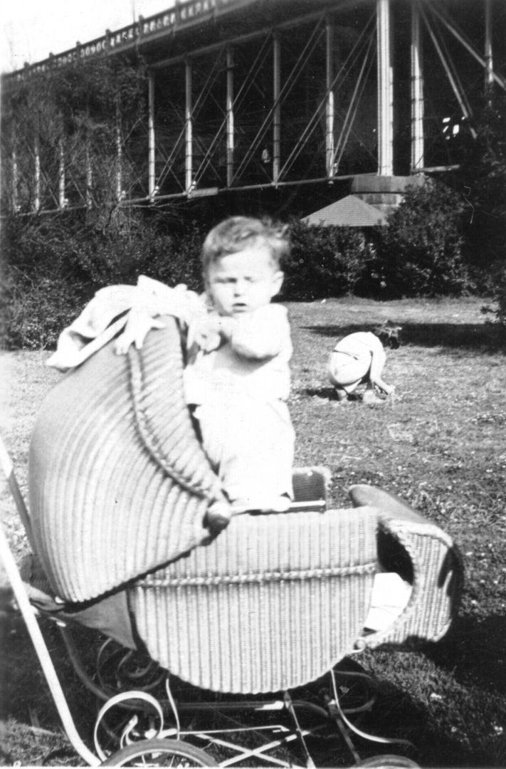 Robert Ernest Rudolph at about 1 year